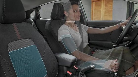 Ford Puma - masažni sedeži